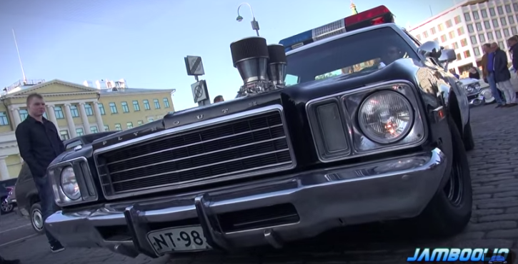 plymouth fury police interceptor on hot cars
