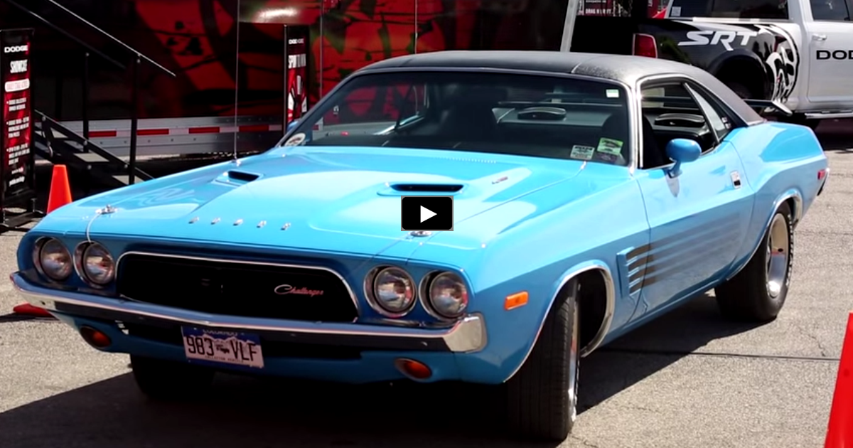 1973 dodge challenger resto-mod on hot cars