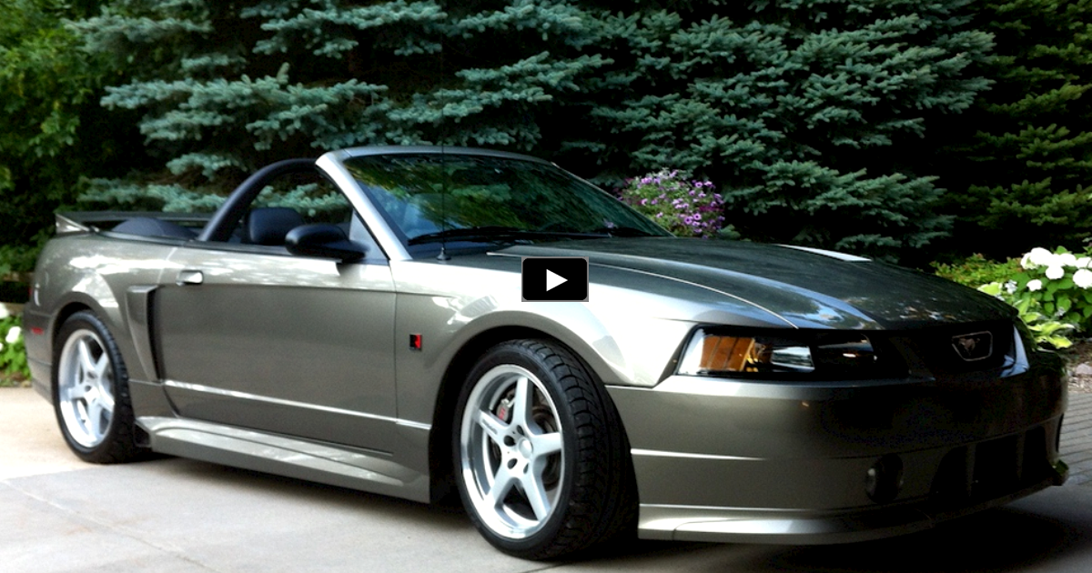 2001 ford mustang roush stage 3 convertible