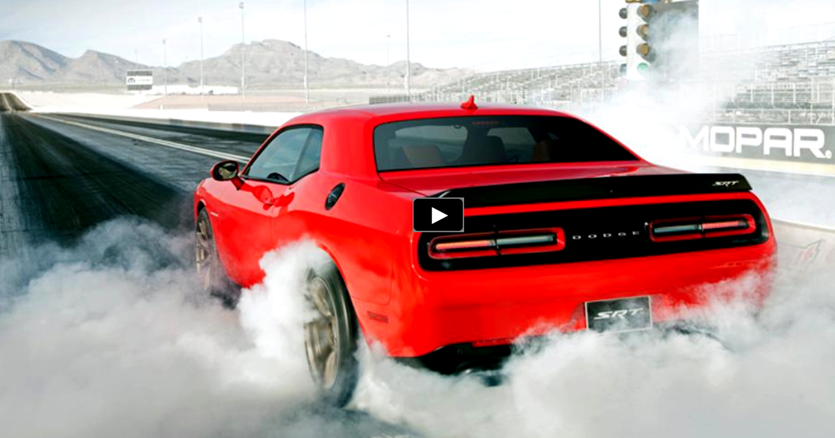 tuned challenger hellcat e85 conversion on hot cars