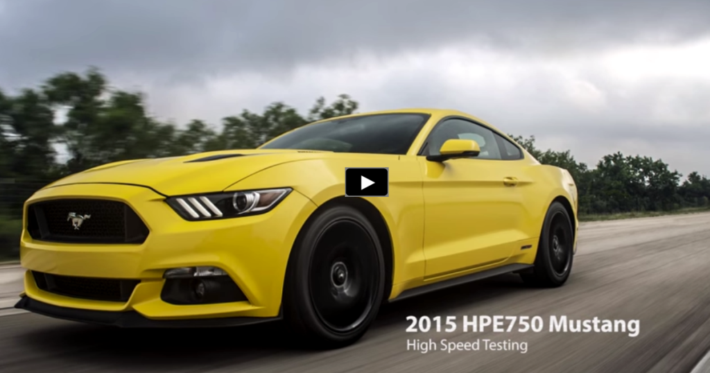 hennessey 2015 ford mustang hpe750 hits 207 mph hot cars. Black Bedroom Furniture Sets. Home Design Ideas