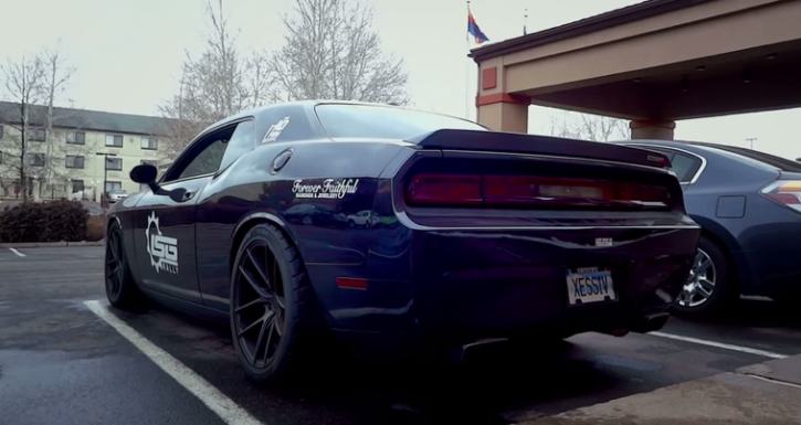 modified dodge challenger srt8 exhaust sound