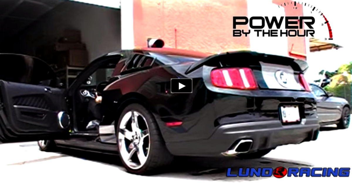 kenne bell supercharged roush mustang gt on hot cars