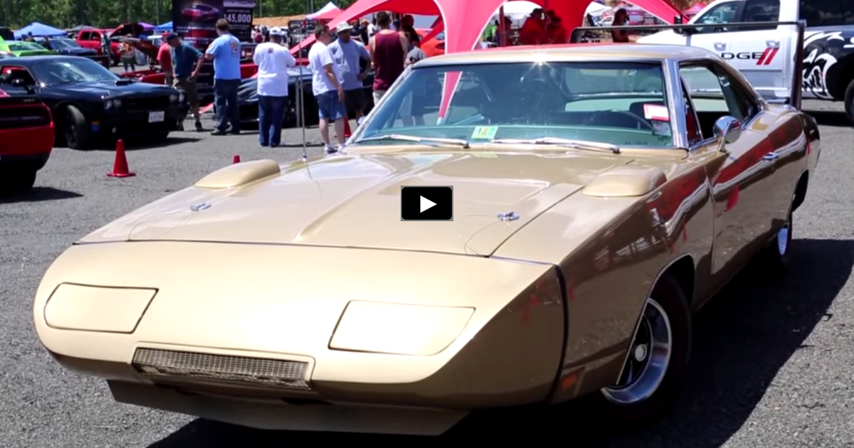original gold 1969 dodge charger daytona on hot cars