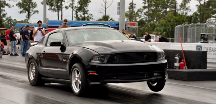 procharged ford mustang gt by lund racing