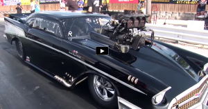 blown 1957 chevy pro mod on hot cars