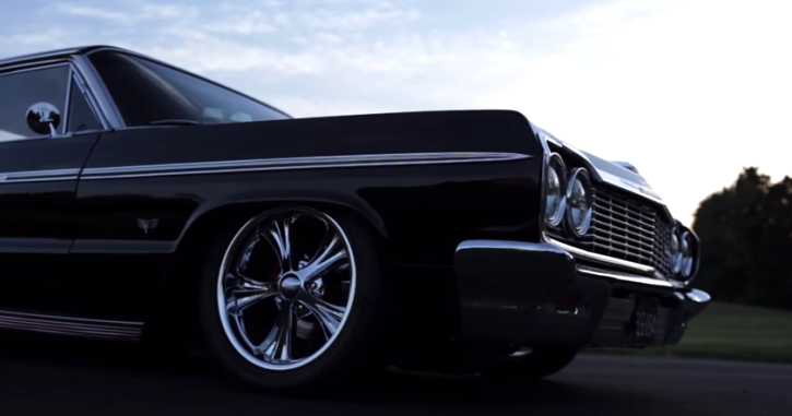 custom 1964 chevy impala on hot cars