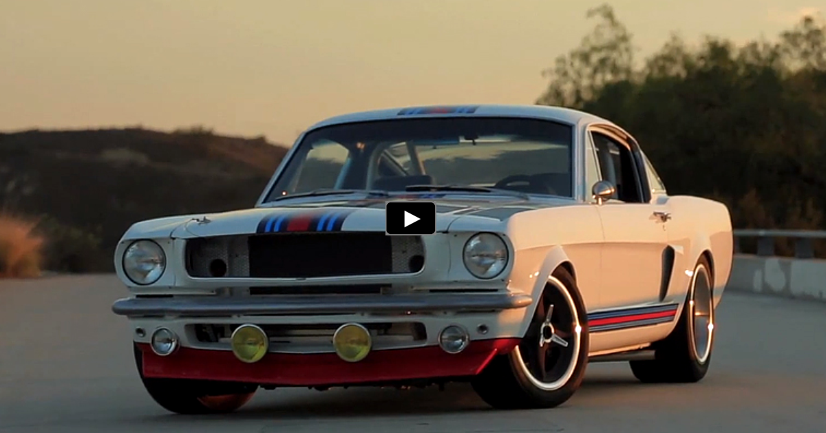 1965 ford martini mustang t-5r on hot cars