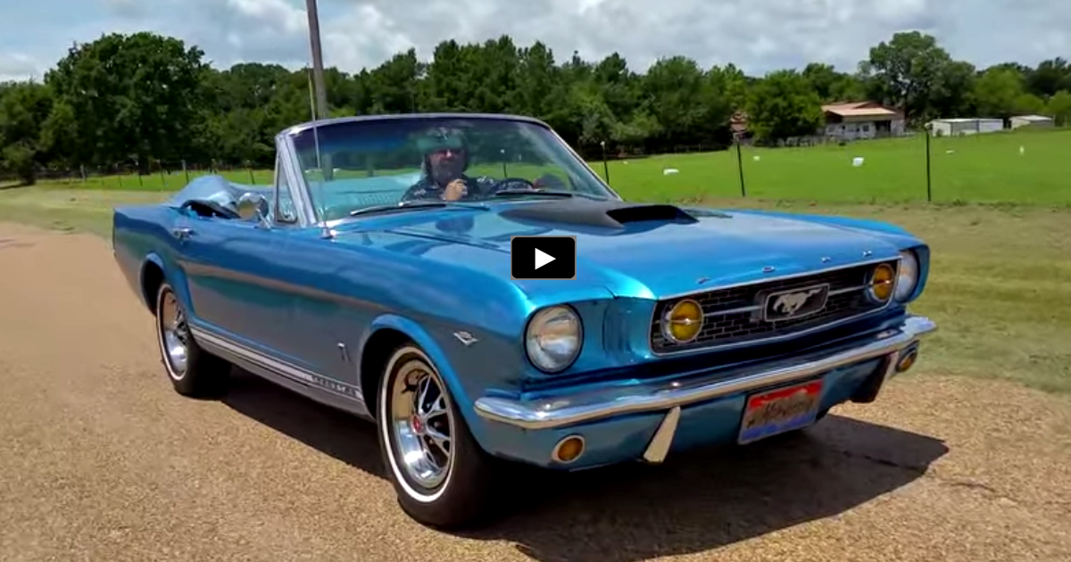 1966 ford mustang convertible on hot cars