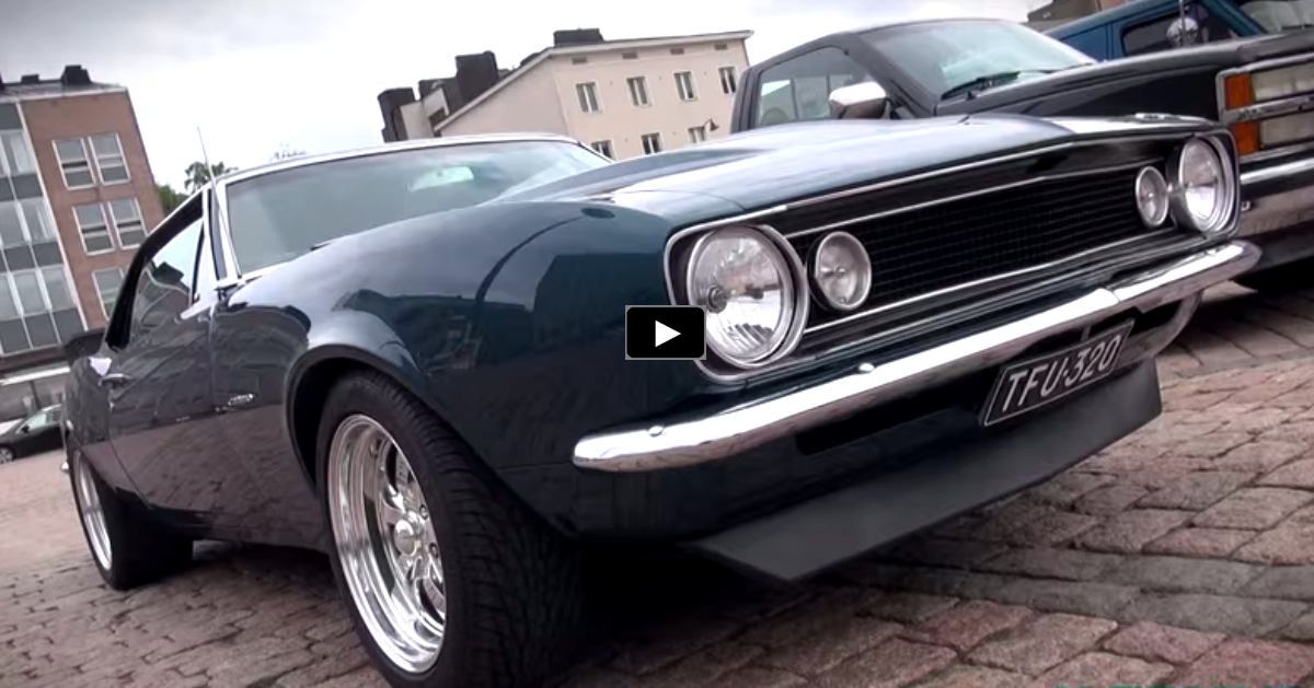 1967 chevy camaro pro touring on hot cars