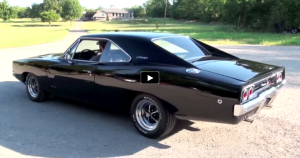 black numbers matching 1968 dodge charger r/t 440