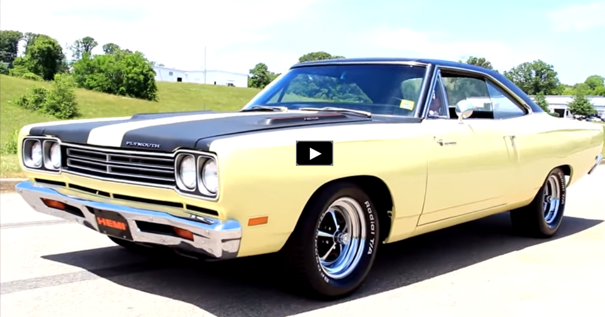 1969 plymouth hemi road runner on hot cars