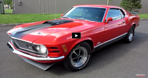restored 1970 ford mustang mach 1 q-code