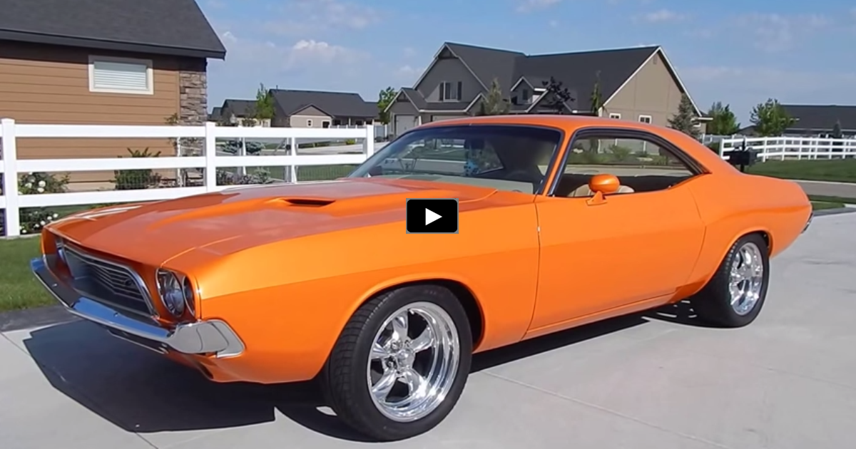 1973 dodge challenger 440 restomod on hot cars