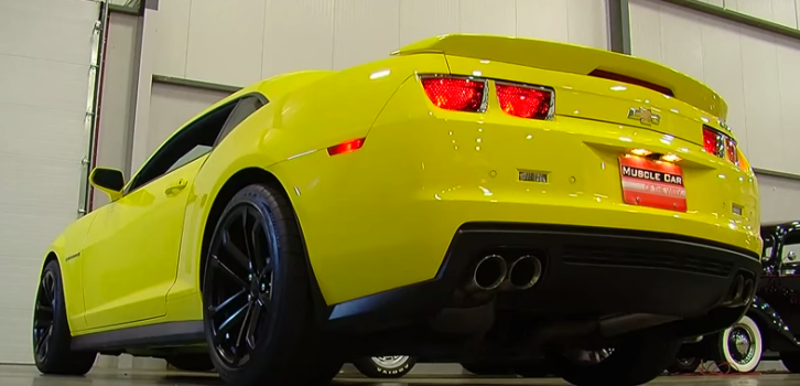 new 2012 chevy camaro zl1 muscle car