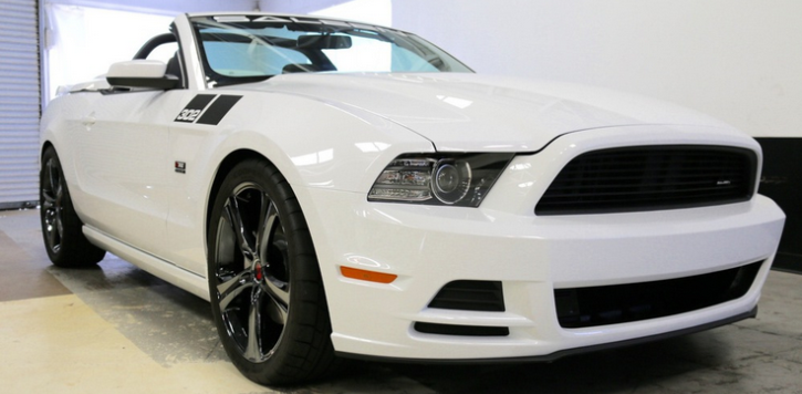 2014 mustang saleen 302 white label convertible