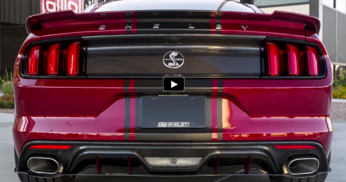 new 2015 mustang shelby super snake video review