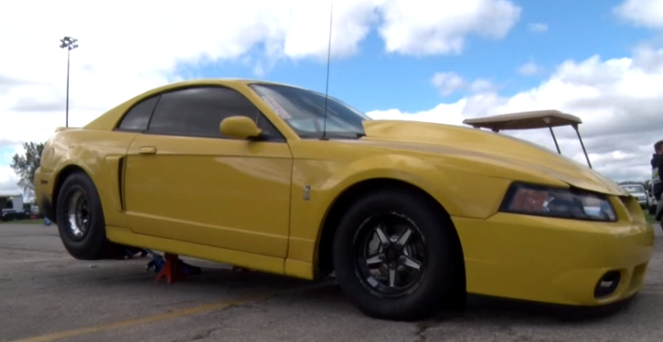 boosted gt turbo mustang cobra at king of the streets