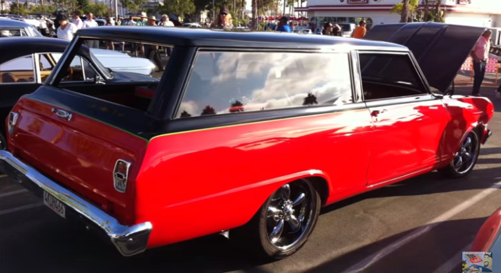 custom 1963 chevy nova station wagon