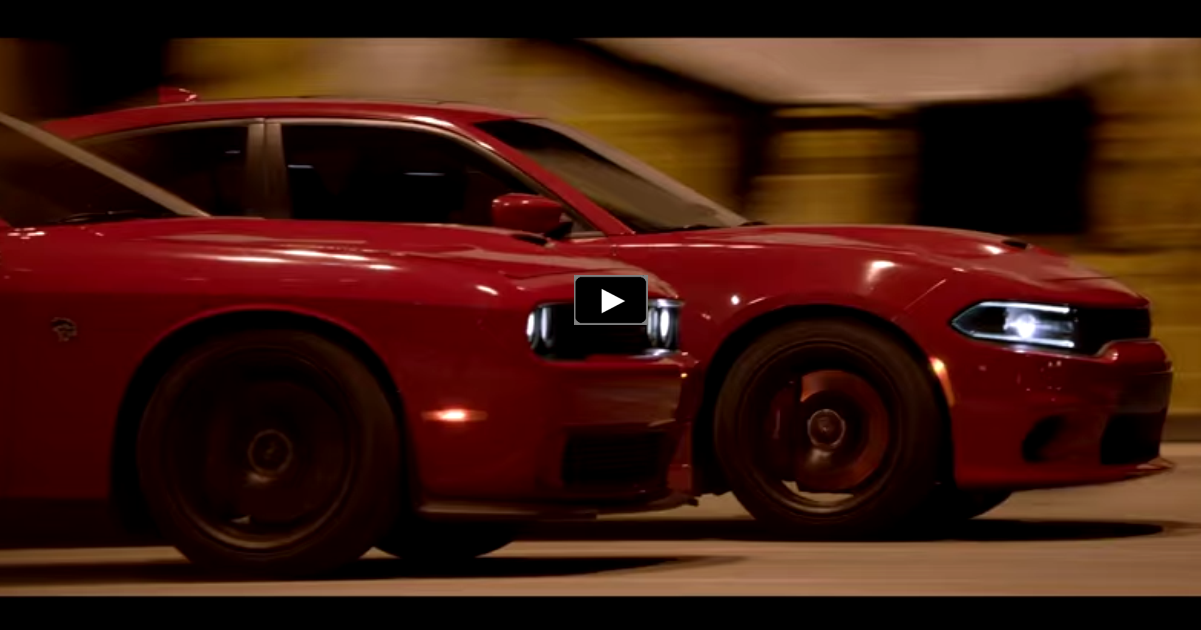 hellcat dodge challenger charger tv commercial
