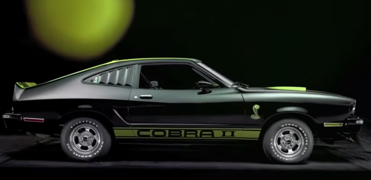 ford mustang II cobra on hot cars