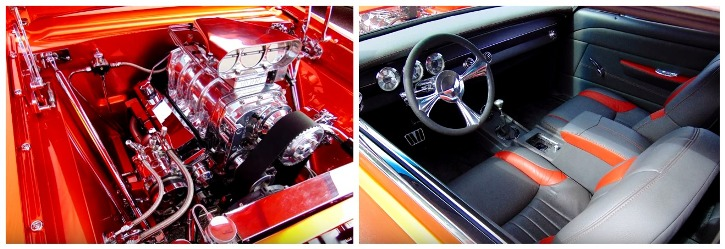 blown 1963 chevy II nova custom on hot cars