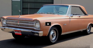 1965 plymouth satellite 426 wedge in copper
