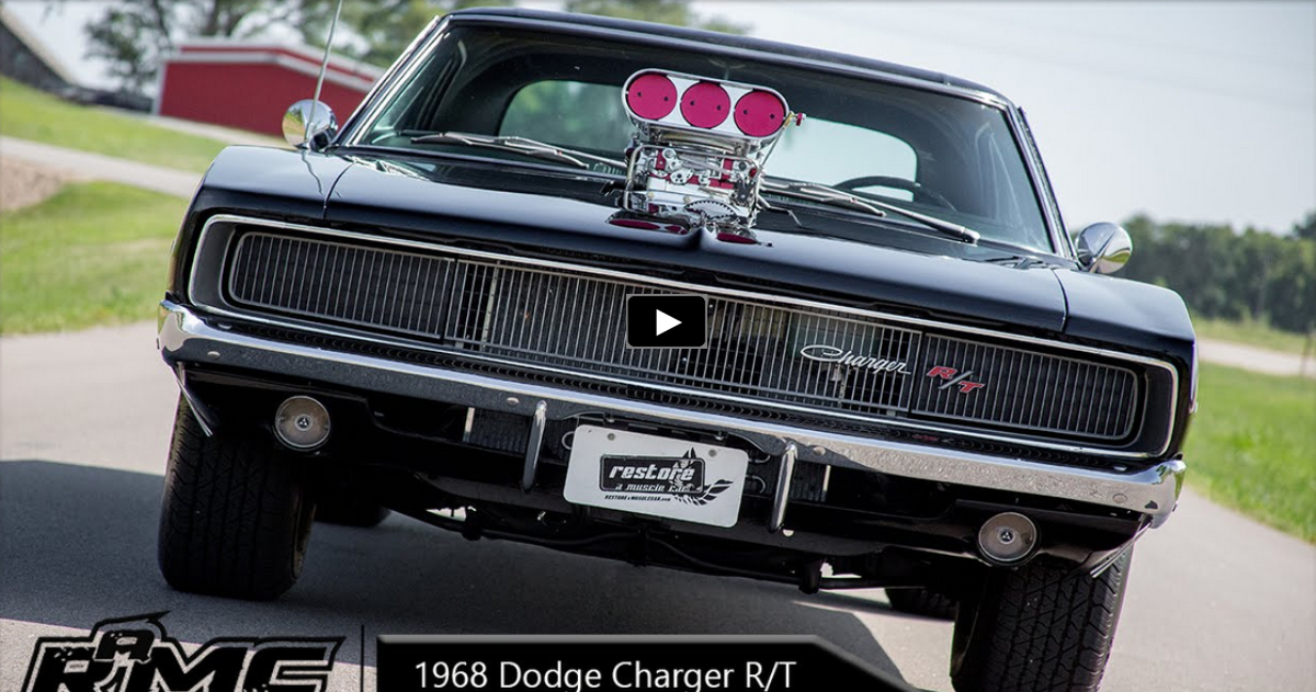 1968 dodge charger r/t with dyer blower