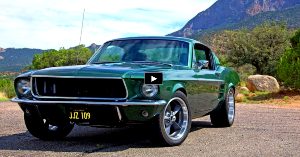 SPECTACULAR 1968 FORD MUSTANG BULLITT MUSCLE CAR | HOT CARS
