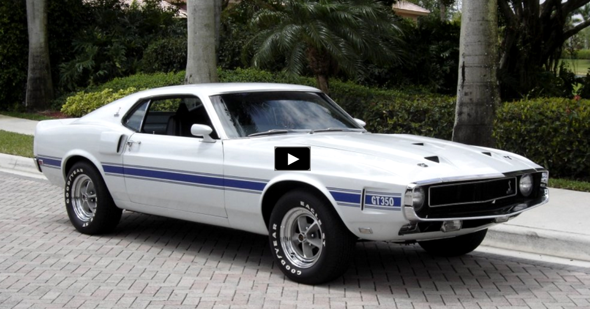 original 1969 ford mustang shelby gt350
