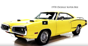 banana yellow 1970 dodge super bee 440 six pack