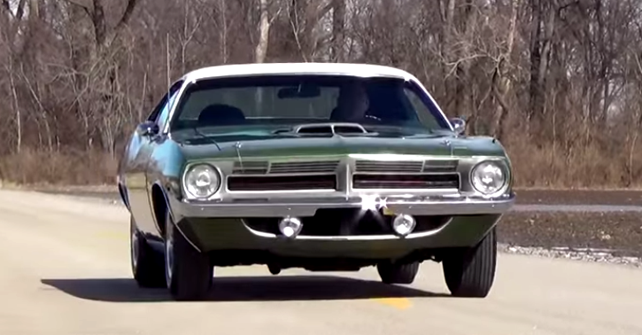 restored 1970 plymouth hemi cuda review & test drive