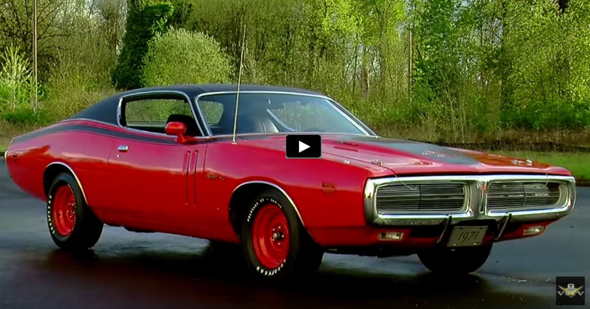 first 1971 dodge hemi charger r/t ever built