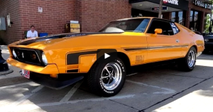 1972 ford mustang mach 1 ex drag car