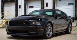 black 2013 mustang roush 1 review