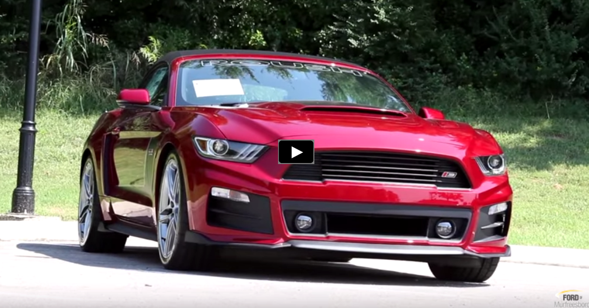 2015 mustang roush stage 3 convertible review