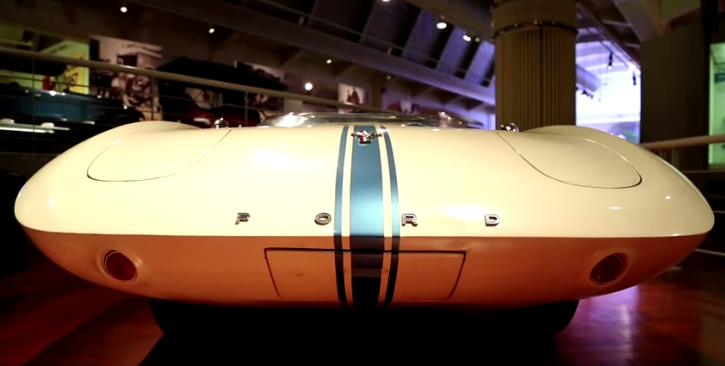 story of the mustang 1 concept car