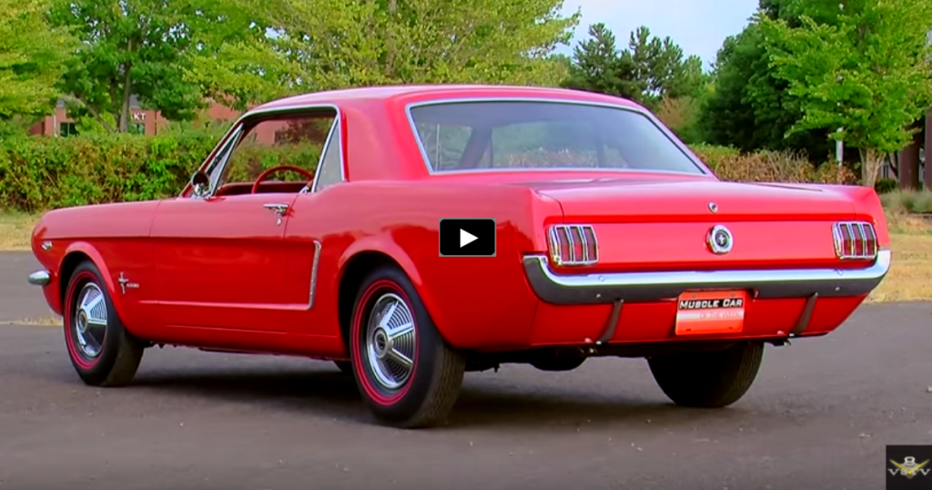 SWEET 1965 FORD MUSTANG WITH K-CODE 289 V8 | HOT CARS