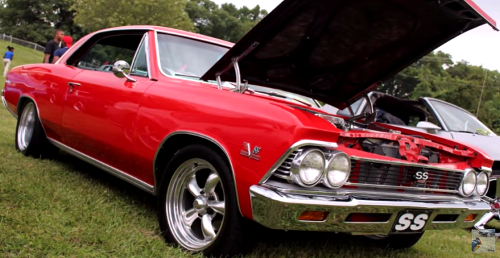 red 1966 chevy chevelle ss big block