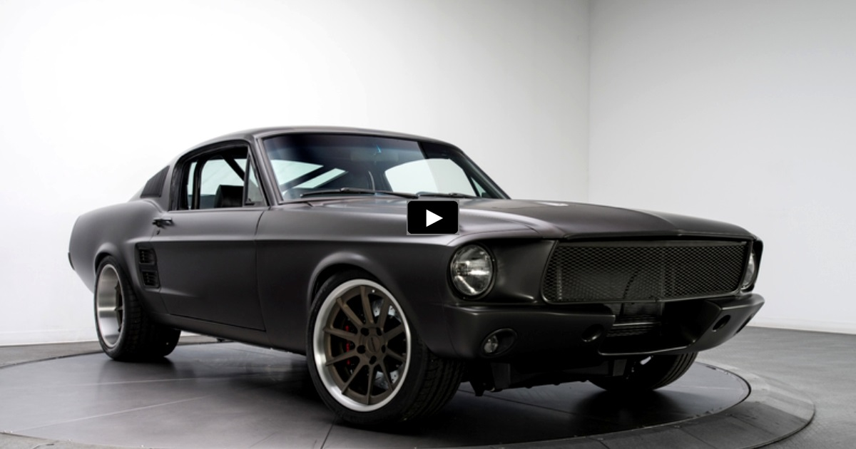pro touring 1967 mustang gt 5.0 coyote