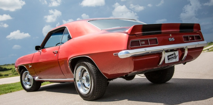 restored 1969 chevy camaro ss 327 for sale
