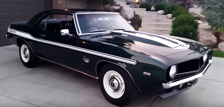 shop built 1969 chevy yenko camaro tribute