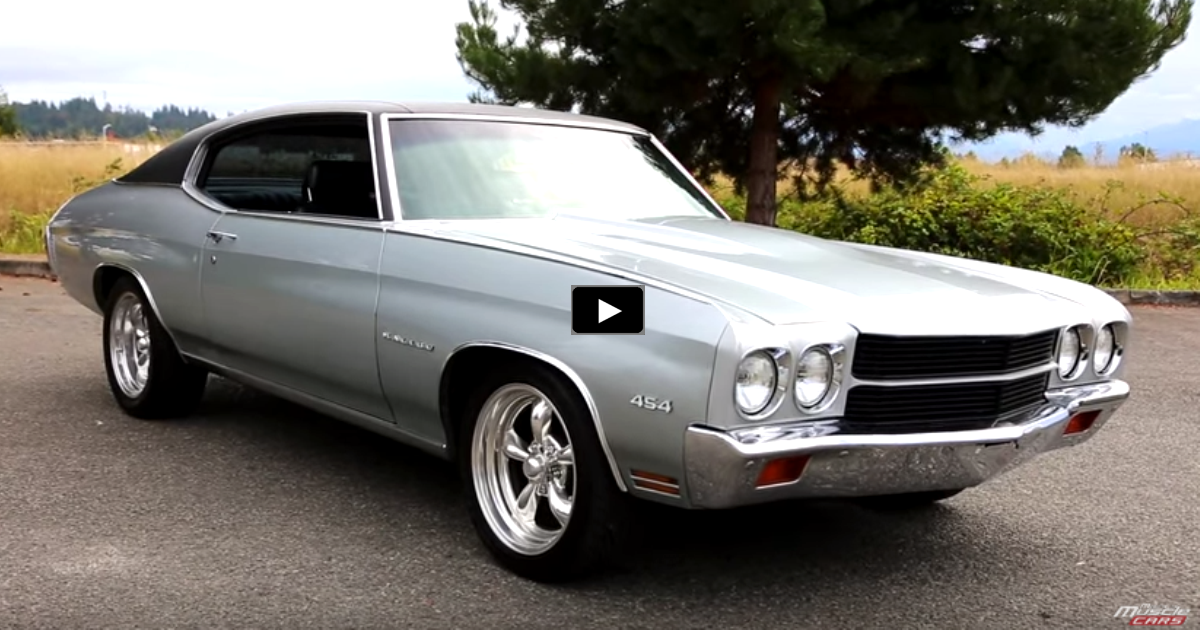 1970 chevy chevelle malibu 454 review and test drive