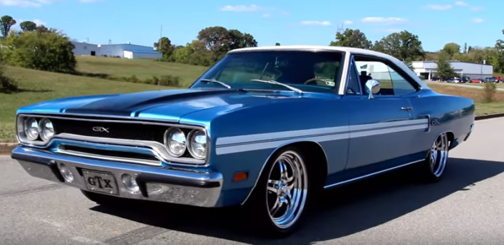 BEAUTIFUL 1970 PLYMOUTH GTX SATELLITE 440 CLONE | HOT CARS