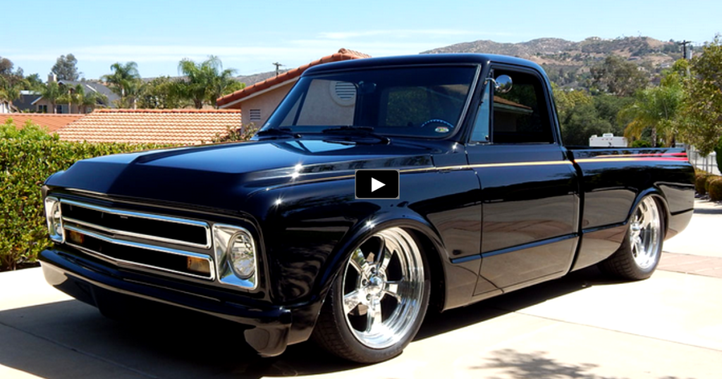 wicked chevy c10 short bed custom truck hot cars. Black Bedroom Furniture Sets. Home Design Ideas