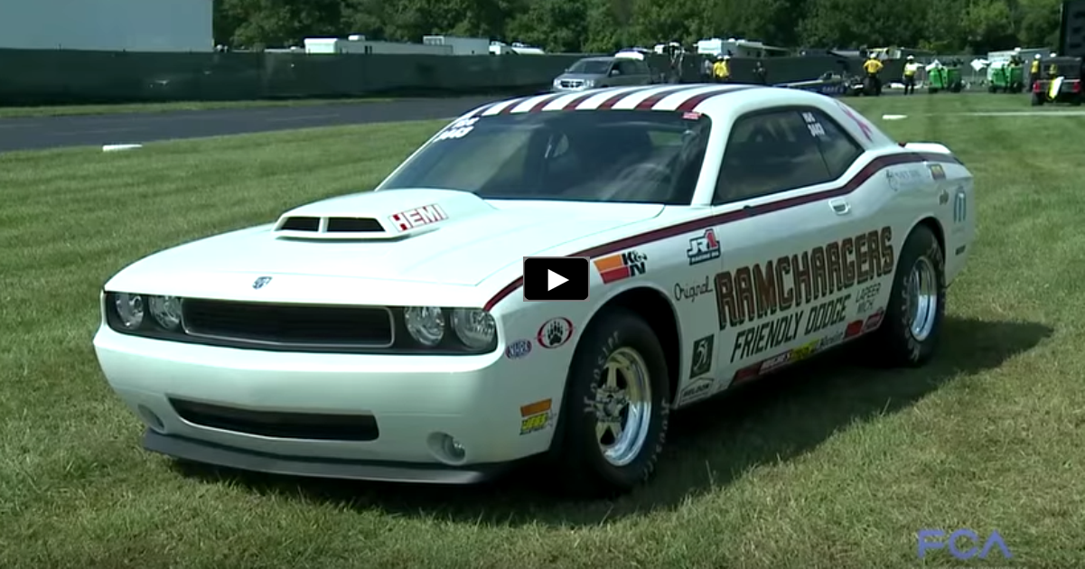 dodge challenger drag pak 2015 mopar top eliminator winner