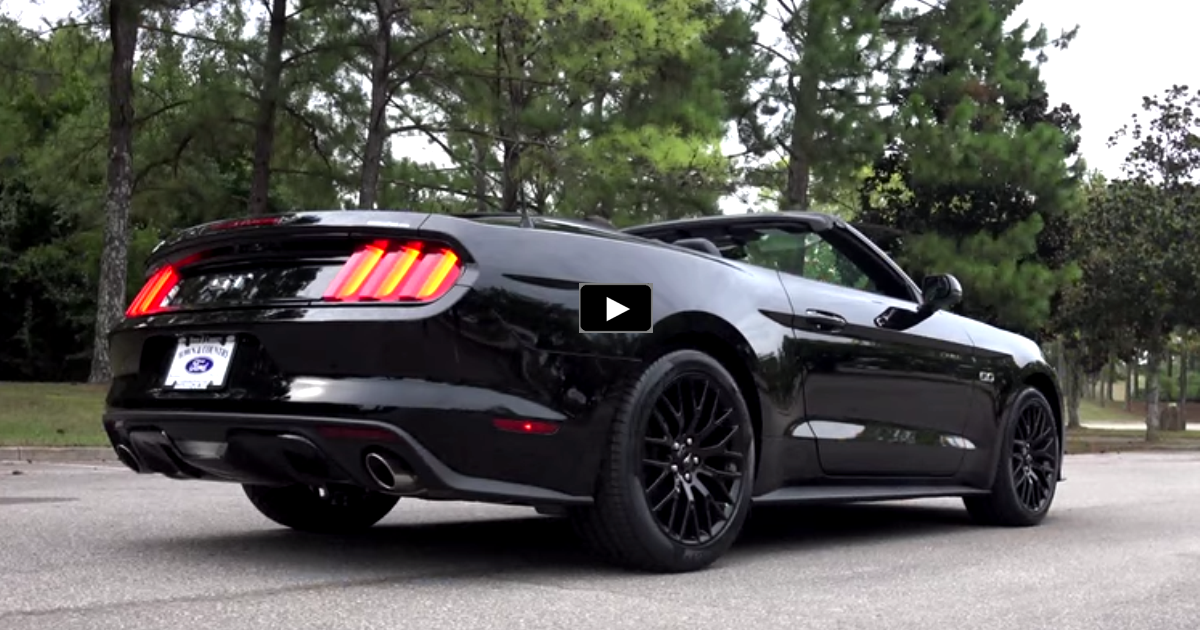 2016 ford mustang gt review