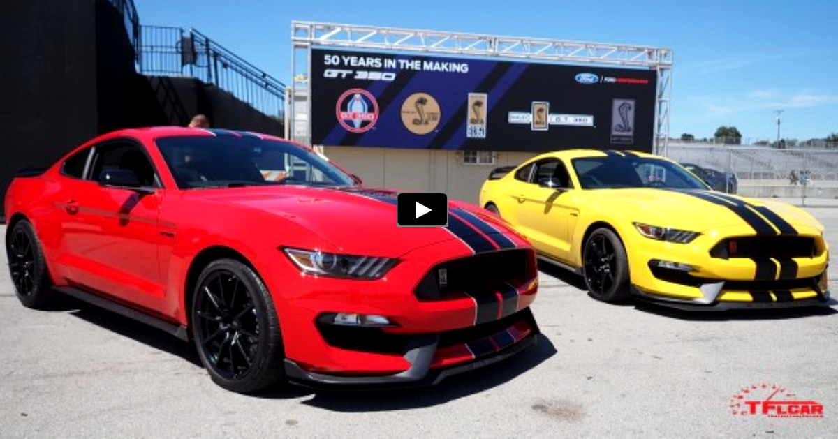 2016 mustang shelby gt350 & shelby gt350r in details