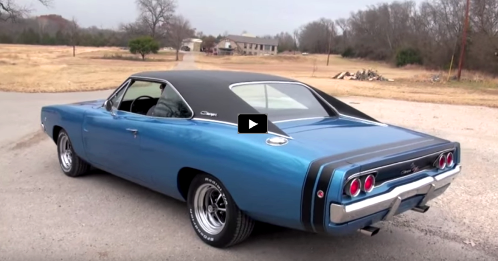 Stunning 1968 Dodge Charger R T In B5 Blue Hot Cars