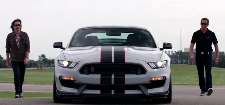 new mustang shelby gt350r